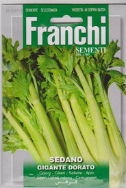 Franchi社【イタリアの野菜の種】 セロリー124/19