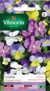 【フランス花の種】エディブルフラワー・ヴィオラ Cornuta variée 245 Vilmorin社