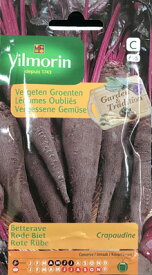 Vilmorin社-フランス野菜の種【ビーツ・Crapaudine V-605】