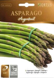 【イタリアの野菜の種】 Hortus社 アスパラガス アルジャントゥイユ※入荷時によりパッケージが違います。