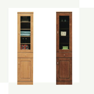 Clearance storage slim kitchen cabinets 40 natural Brown two colors