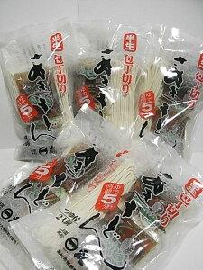 半生 包丁切り さぬき うどん 細麺 【つゆ付200g(2人前)×5袋】 箱入