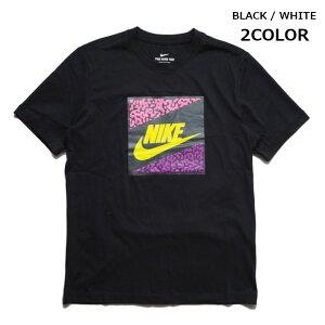 NIKE ナイキ Tシャツ 半袖 ポップカラーセメント柄 (CT6573) 半袖Tシャツ フォトTシャツ 写真 ティーシャツ クルーネック 丸首 白 メンズ カジュアル アメカジ スポーツ ストリート ブランド あす