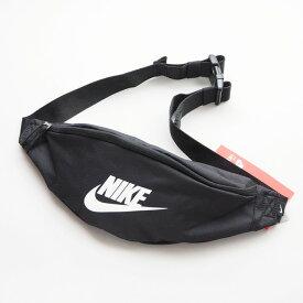 NIKE ナイキ ボディバッグ ベーシックロゴ (BA5750) ウエストバッグ ショルダーバッグ 黒赤 メンズ レディース ペアルック カジュアル アメカジ スポーツ ストリート ブランド あす楽