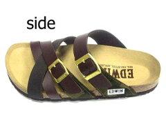 EDWINエドウィンエドウイン靴メンズ靴サンダル送料無料ブラックダークブラウンカモフラージュ
