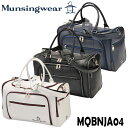 マンシング ボストンバッグ(19SS) MQBNJA04 Munsingwear