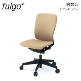 イトーキ (ITOKI) フルゴチェア (fulgo) ハイバック ビニールレザー ベースカラーT1:ブラック 肘なし KF-430DL-T1□ 【送料無料】