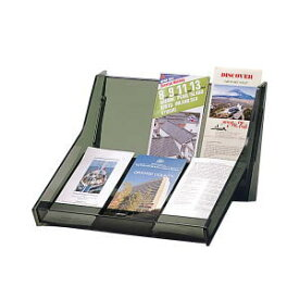 UCHIDA(ウチダ・内田洋行) 卓上パンフレットケース A4 3ツ折り3列2段 W330×D330×H210ミリ 1-457-0312 【送料無料】