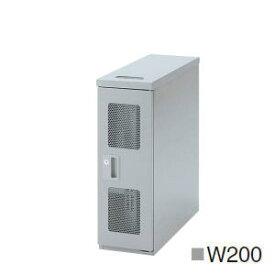 UCHIDA (内田洋行・ウチダ) LAN用ワゴン DNシリーズ(EIA規格19インチラック) W200×D550×H600ミリ DN0205 5-200-0001 【送料無料】