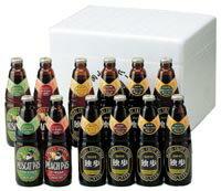 独歩ビール 飲み比べ12本セット (送料込)【楽ギフ_のし】【宮下酒造】