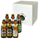 お歳暮 ビール ギフト 地ビール独歩 本格派飲み比べ6本セット MBH6V(送料込、クール配送) プレゼント 誕生日 贈答 【宮下酒造】【あす楽】