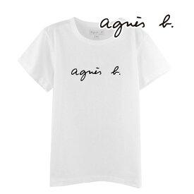 アニエスベー agnesb ロゴ Tシャツ 半袖 カットソー レディース