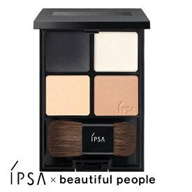 IPSA × beautiful people デザイニング フェイスカラーパレット 01 化粧品 イプサ ビューティフルピープル コラボ