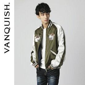 VANQUISH ヴァンキッシュ SHIBUYA SOUVENIR JACKET(スカジャン×MA-1)[VJJ030]