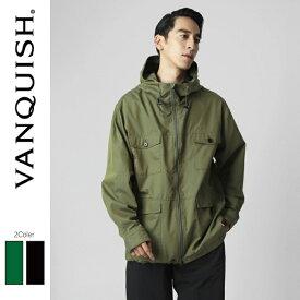 VANQUISH ヴァンキッシュ Hood Military Jacket[VJJ014]