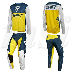 Shift シフト 2018年 WHIT3 LE ホワイト パンツ & ジャージ セット GP 限定版