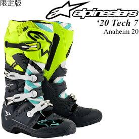 Alpinestars オフロードブーツ 限定版 Tech 7 2020年 最新モデル Anaheim 20