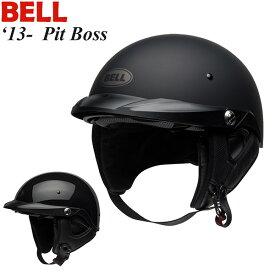 BELL ヘルメット 半帽 Pit Boss 13-19年 現行モデル