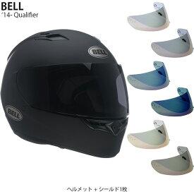 BELL 2点セット Qualifier 14-19年 現行モデル Matte Black ヘルメット & イリジウムシールド