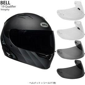 BELL 2点セット Qualifier 2019年 モデル Integrity Black Titan ヘルメット & シールド