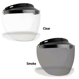 BELL ベル Custom500/Shorty/RT ヘルメット用 3 Snap Flip Visor 3スナップ フリップ バイザー