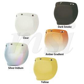 BELL ベル Custom500/Shorty/RT ヘルメット用 3 Snap Bubble 3スナップ バブル シールド