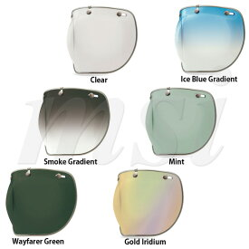 BELL ベル Custom500/Shorty/RT ヘルメット用 3 Snap Bubble DLX 3スナップ バブル デラックス シールド