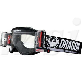 Dragon ドラゴン MXV MX ゴーグル w/ロールオフキット Coal コール ラピッドロールクリアレンズ 722-2010