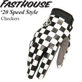 FastHouse グローブ Speed Style 2020年 最新モデル Checkers