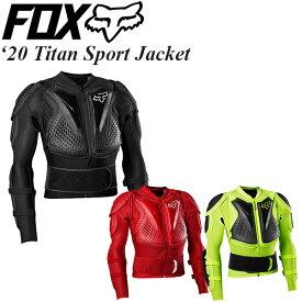 FOX ボディプロテクター Titan Sport Jacket 2020年 最新モデル