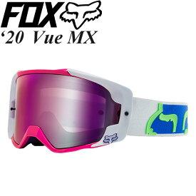 FOX ゴーグル MX用 Vue 2020年 最新モデル Dusc ミラーレンズ 24711-922