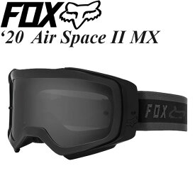 FOX ゴーグル MX用 Air Space II 2020年 最新モデル MRDR PC 24807-001