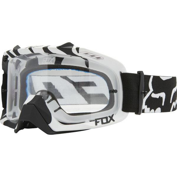 超特価!! FOX フォックス AIR Defence エア ディフェンス MX ゴーグル Black Zebra ブラックゼブラ クリアレンズ 14594-901