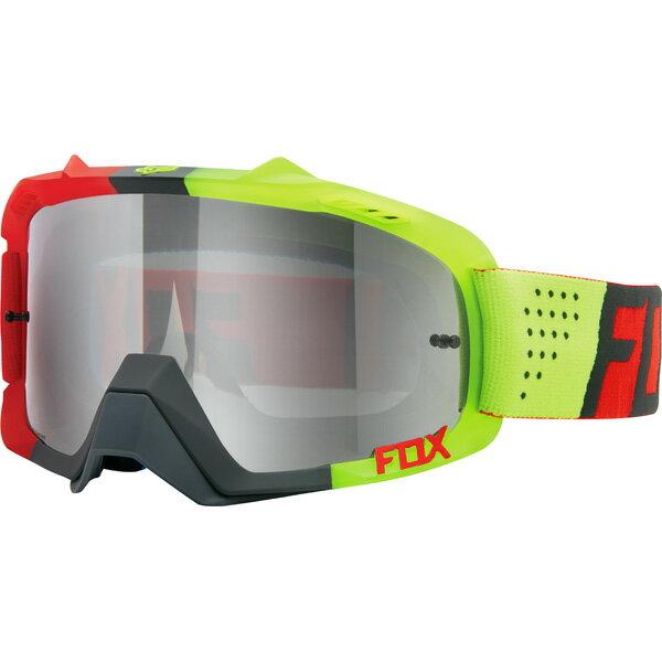 超特価!! FOX フォックス AIR Defence エア ディフェンス MX ゴーグル Libra リブラ レッドイエロー クリアレンズ 15359-903