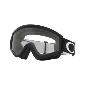 Oakley オークリー L Frame Lフレーム MX ゴーグル 眼鏡対応 マットブラック クリアレンズ 01-247