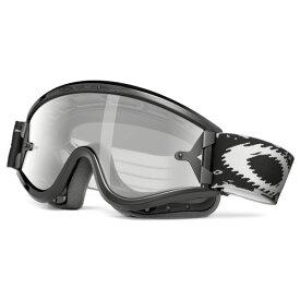 Oakley オークリー L Frame Sand Lフレーム サンド MX ゴーグル 眼鏡対応 ジェットブラック ダークグレー&クリアレンズ 01-631