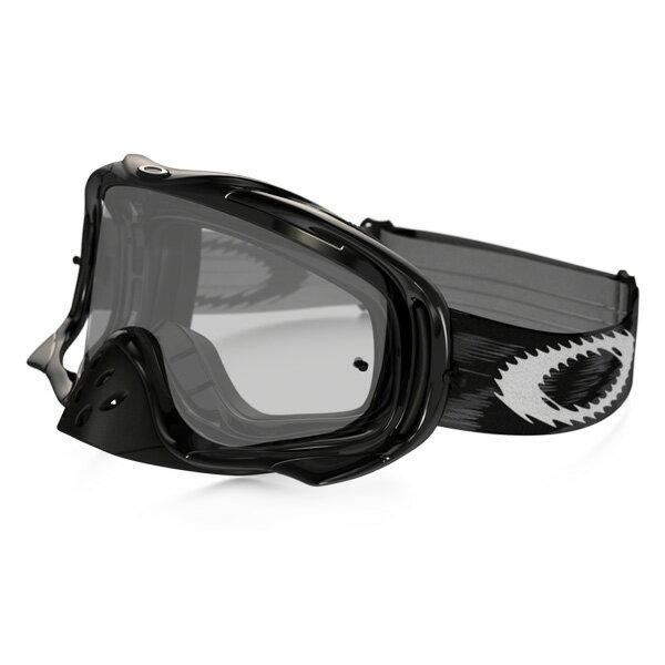 Oakley オークリー Crowbar クローバー MX ゴーグル Jet Black Speed ジェットブラックスピード クリアレンズ 57-951