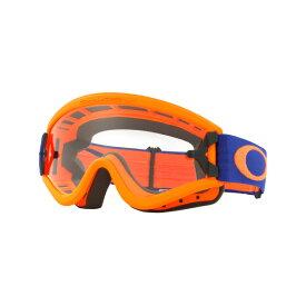 Oakley オークリー L Frame Lフレーム MX ゴーグル 眼鏡対応 オレンジブルー クリアレンズ OO7008-02