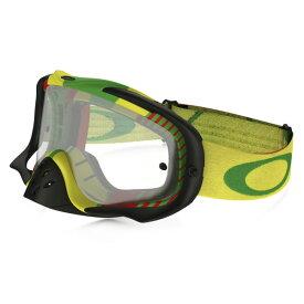Oakley オークリー Crowbar クローバー MX ゴーグル Bio Hazard バイオハザード ラスタ クリアレンズ OO7025-37