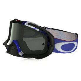 Oakley オークリー Crowbar クローバー MX ゴーグル Ryan Dungey ライアン・ダンジー ブロックパス 赤白青 ダークグレーレンズ OO7025-42