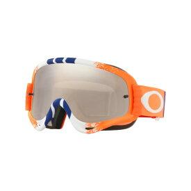 Oakley オークリー O Frame Oフレーム MX ゴーグル Pinned Race ピンドレース オレンジブルーレッド ブラックイリジウム&クリアレンズ OO7029-42