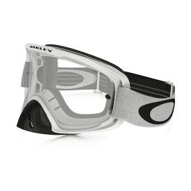Oakley オークリー O Frame 2.0 Oフレーム2.0 MX ゴーグル w/ロールオフキット マットホワイト クリアレンズ OO7068-20