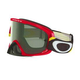 Oakley オークリー O Frame 2.0 Oフレーム2.0 MX ゴーグル Heritage Racer ヘリテージレーサー レッドイエロー ダークグレーレンズ OO7068-24