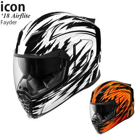 Icon ヘルメット Airflite 18-19年 現行モデル Fayder