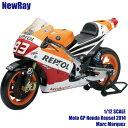 NewRay 1/12 スケールモデル Honda Repsol 2014 Marc Marquez