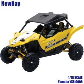 NewRay 1/18 スケールモデル Yamaha YXZ1000R イエロー