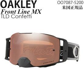Oakley ゴーグル モトクロス用 Front Line MX TLD Confetti プリズムレンズ OO7087-5200