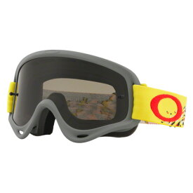 Oakley オークリー XS O Frame Sand Oフレーム サンド MX ゴーグル 子供用 Podium Check ポディウムチェック レッドブラック ダークグレー&クリアレンズ OO7030-16