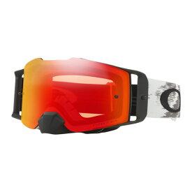 Oakley オークリー Front Line Snow X フロントライン スノーX ゴーグル スノーモービル用 Matte White Speed マットホワイトスピード デュアルプリズムスノートーチイリジウムレンズ OO7087-24
