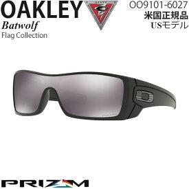 Oakley サングラス 軍用 SIシリーズ Batwolf Flag Collection プリズムレンズ OO9101-6027